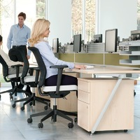 Ergonomics are important in every office.