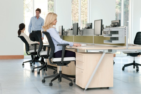 Modern office furniture all about ergonomics modern for Office design ergonomics