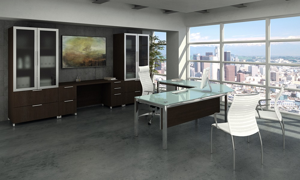 Executive office furniture and your work style modern for Office pictures