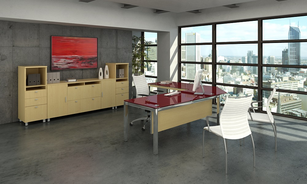 Executive Office Furniture Amazoncom Altra Benjamin