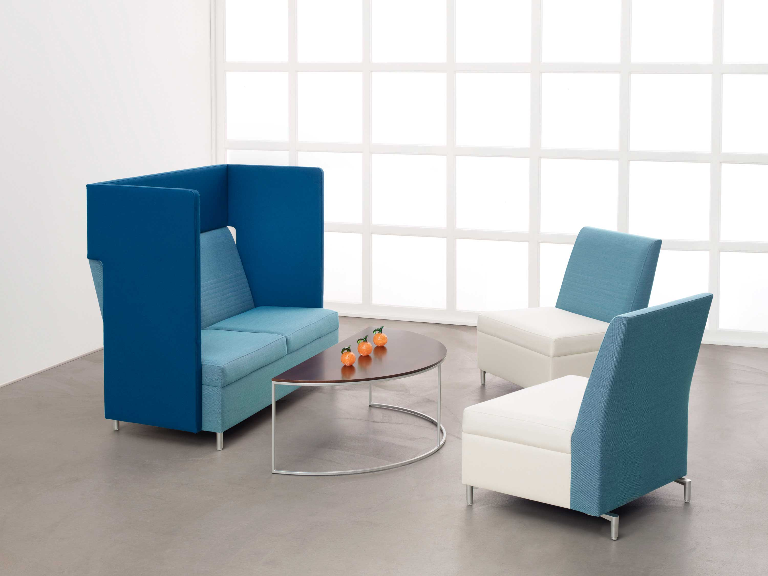 The new collaborative work space modern office furniture for Modern office furniture