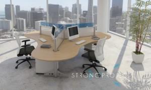 3-Pod Workstation