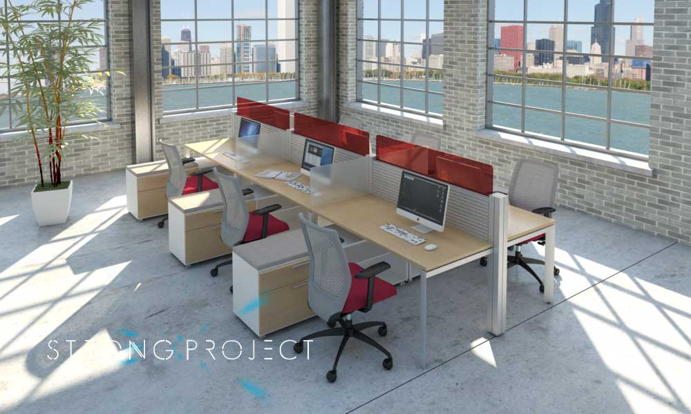 Commuters and Contractors: Flexible Office Spaces – Modern Office ...
