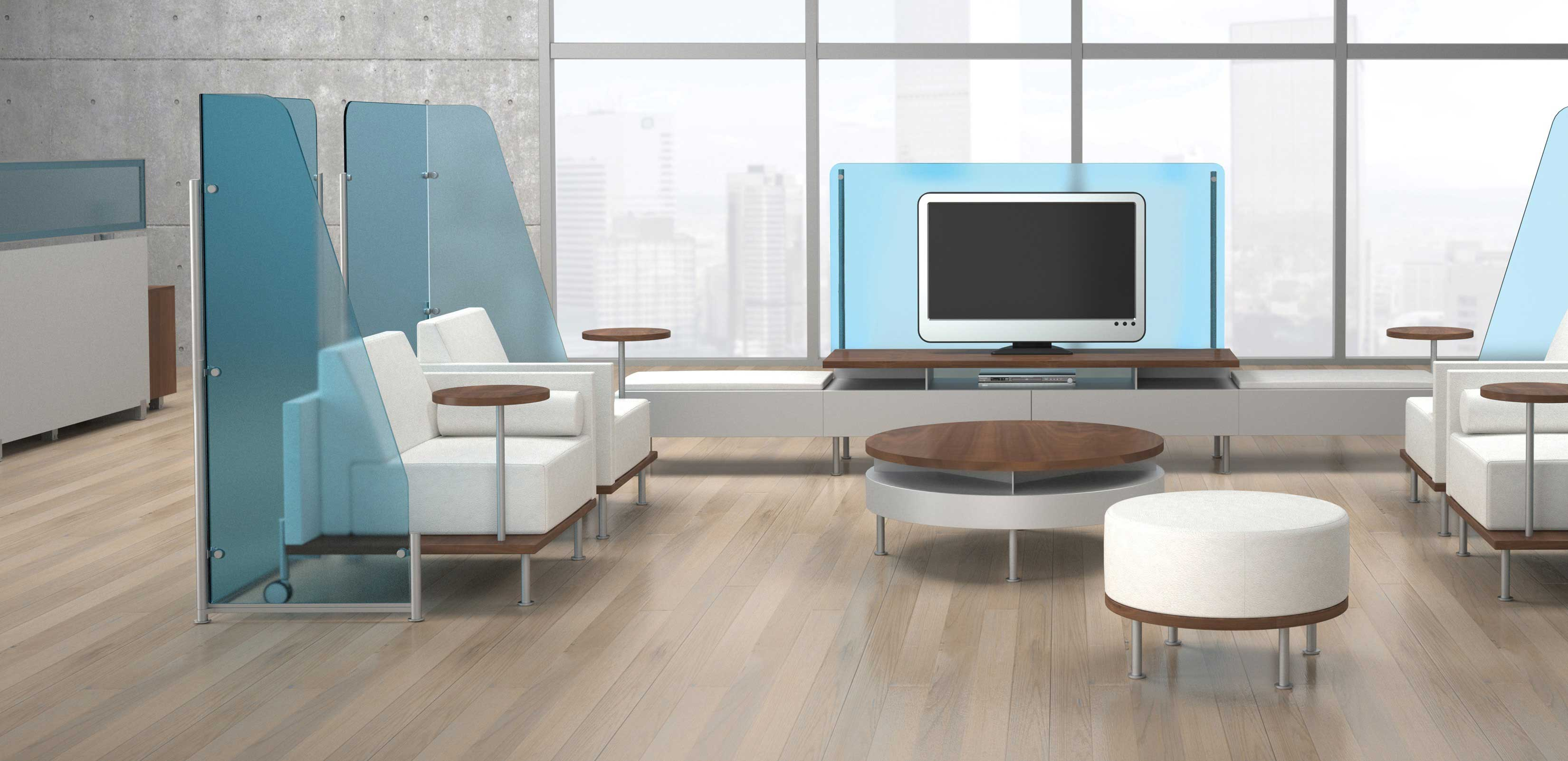 Office layout transitions going from traditional to for Contemporary office furniture