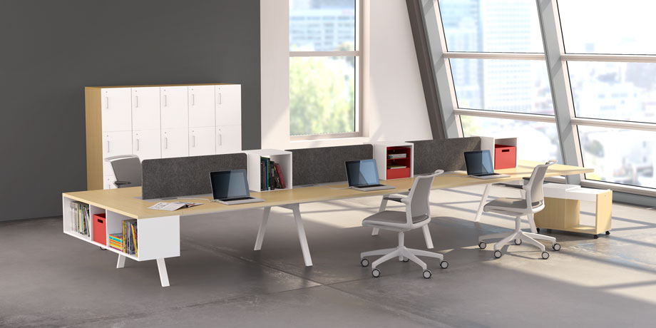 modern office workstations. From Start-Up To Mid-Size Business: How Your Office Grows Modern Workstations