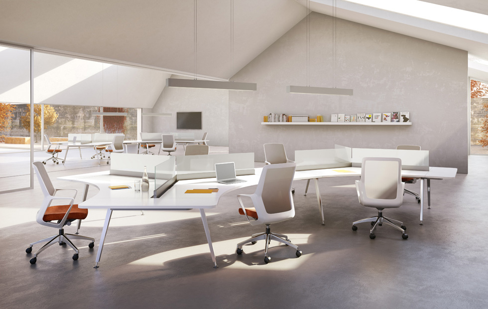 From start up to mid size business how your office grows for Corporate furniture design