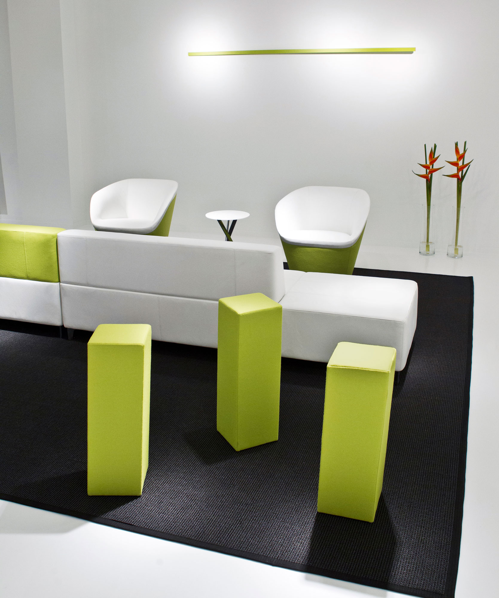 Employee lounges take a break to get more done modern for Modern office furniture