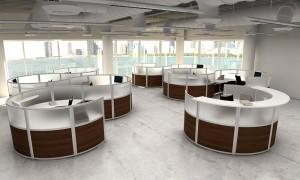 Working Modular Desks