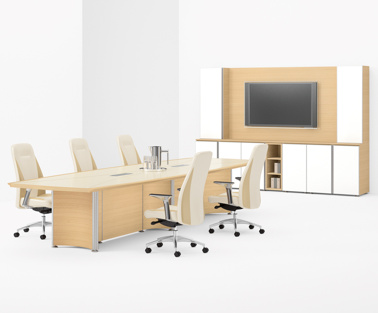Modern conference tables contemporary office furniture for Contemporary furnishings