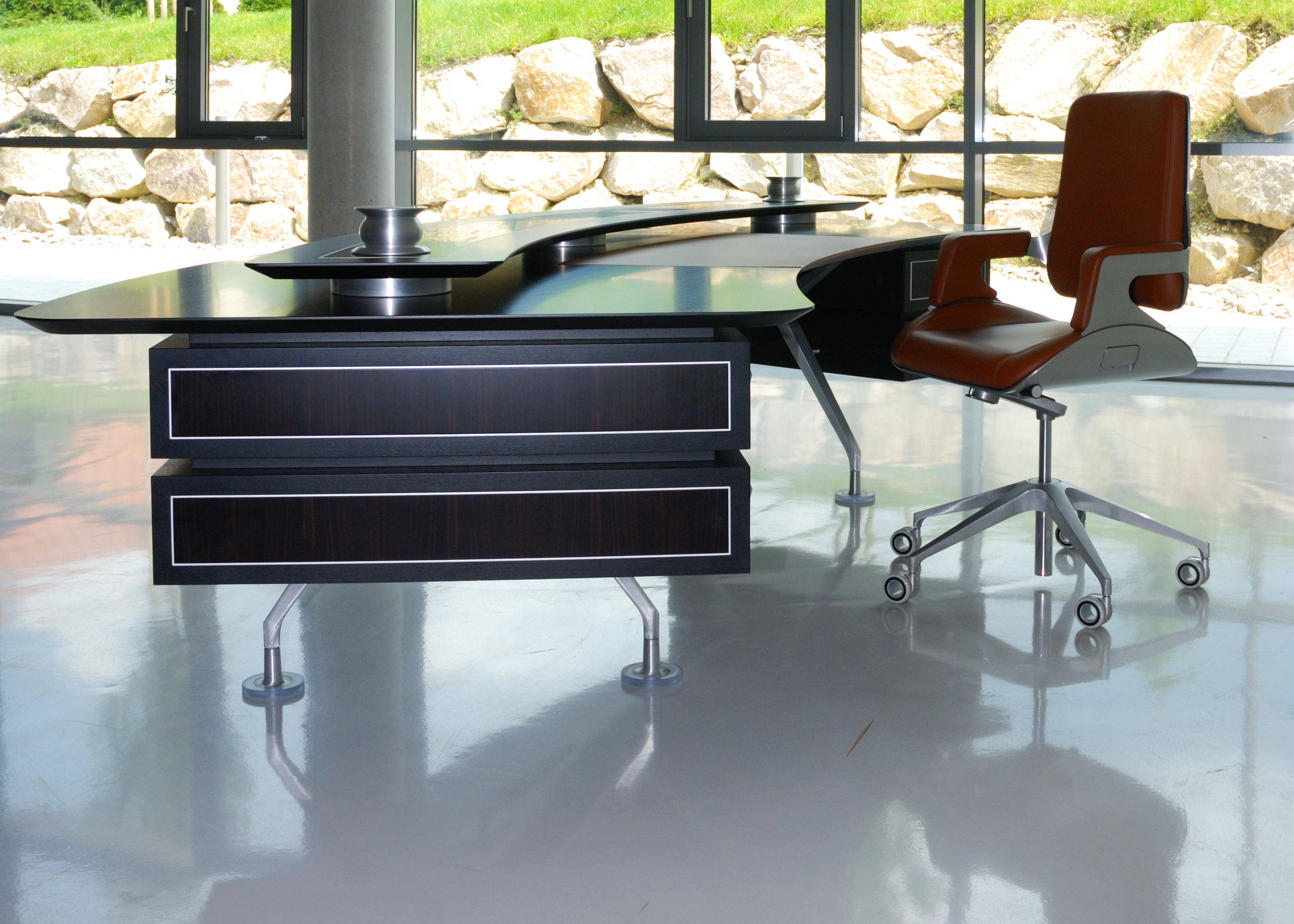Image of: How To Create The Perfect C Level Suite Modern Office Furniture
