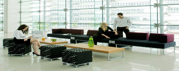 how modern office furniture can build a stronger team