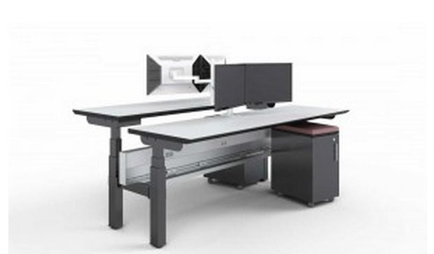 adjustable height desks break the monotony at the office – modern