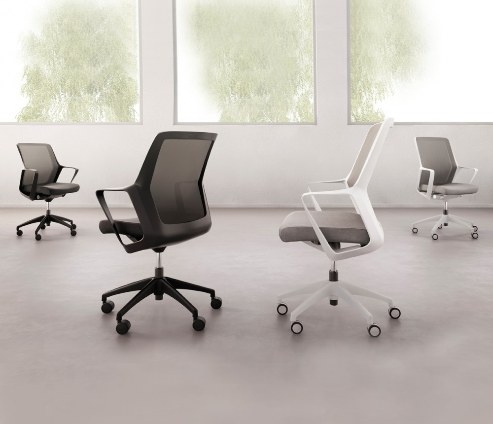 Modern ergonomic office chairs - Ergonomic Chairs Black Rolling Desk Chair