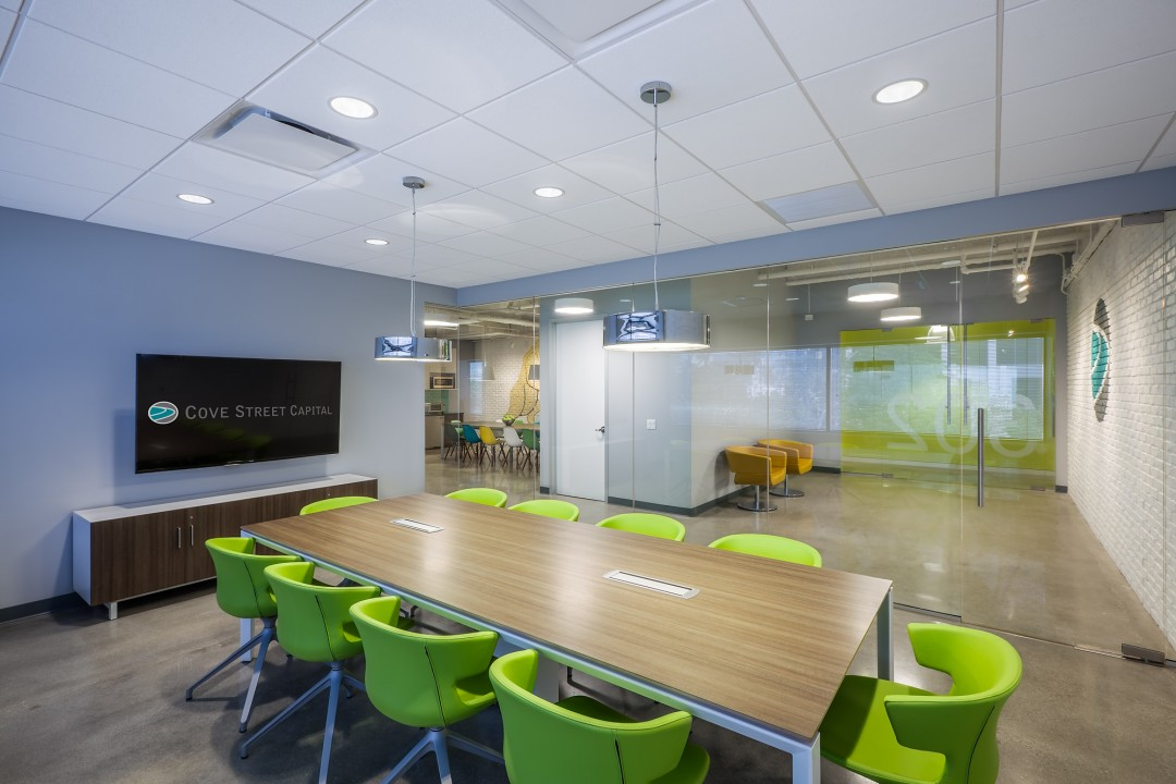 Cove Street Capital - StrongProject Office Design