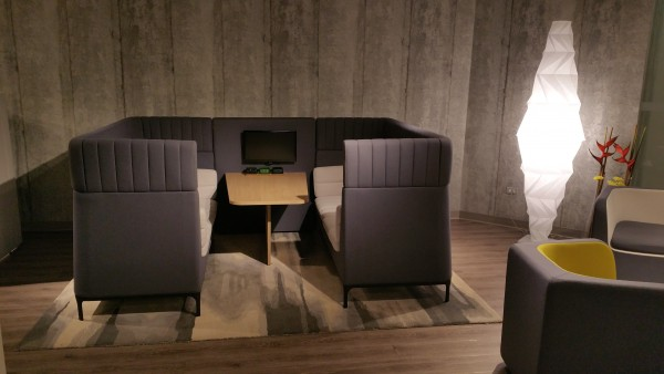 Haven Lounge Acoustic Collaborative furniture from Strong Project Inc. modern office furniture