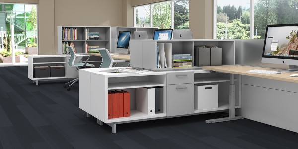 Watson Adjustable Height Desk from Strong Project Inc. modern office desk collection