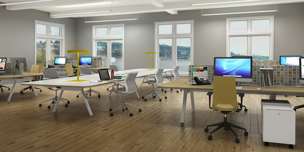 Make Your Office Furniture As Smart Team With Modern Concepts From Strong Project