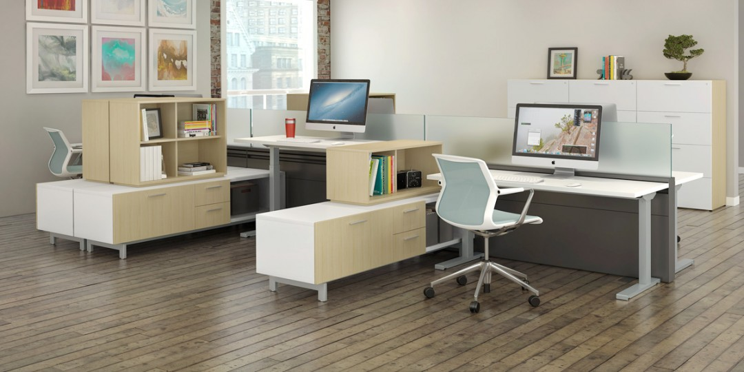 StrongProject offers adjustable height desk options for the modern workplace.