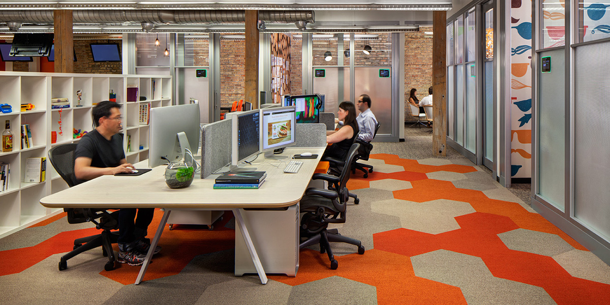 What happens when the c suite office disappears modern for Cubicle design tool
