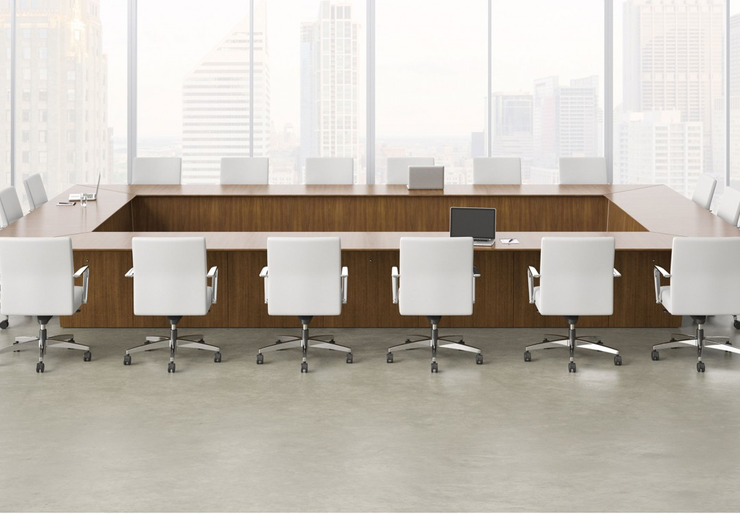 Impress Board Members With These Five Modern Conference Room Designs Modern Office Furniture