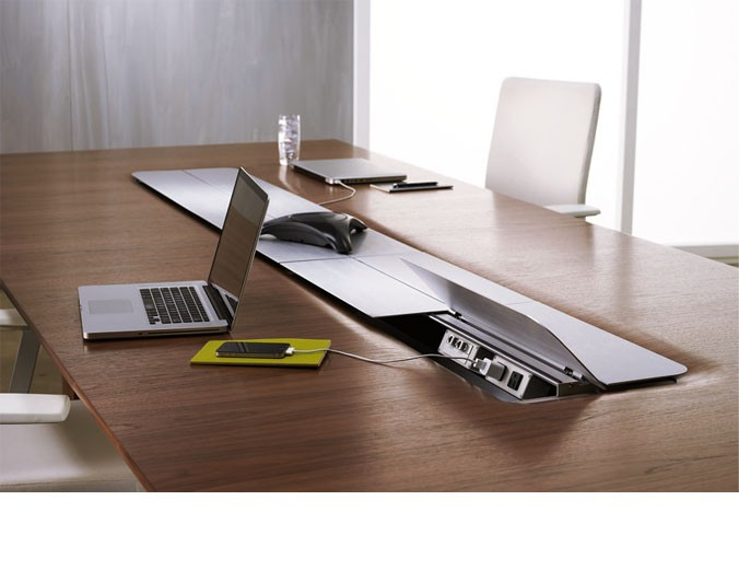 enjoy a new sleek conference table for your commercial office space