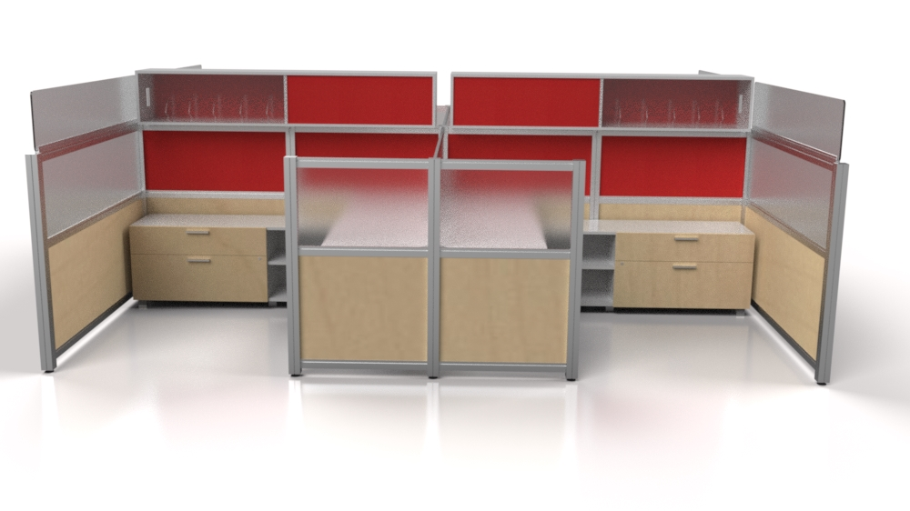 Will cubicles like these modular workstations go away? We don't think so.