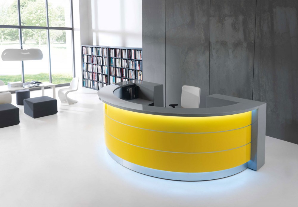 waiting room furniture by StrongProject