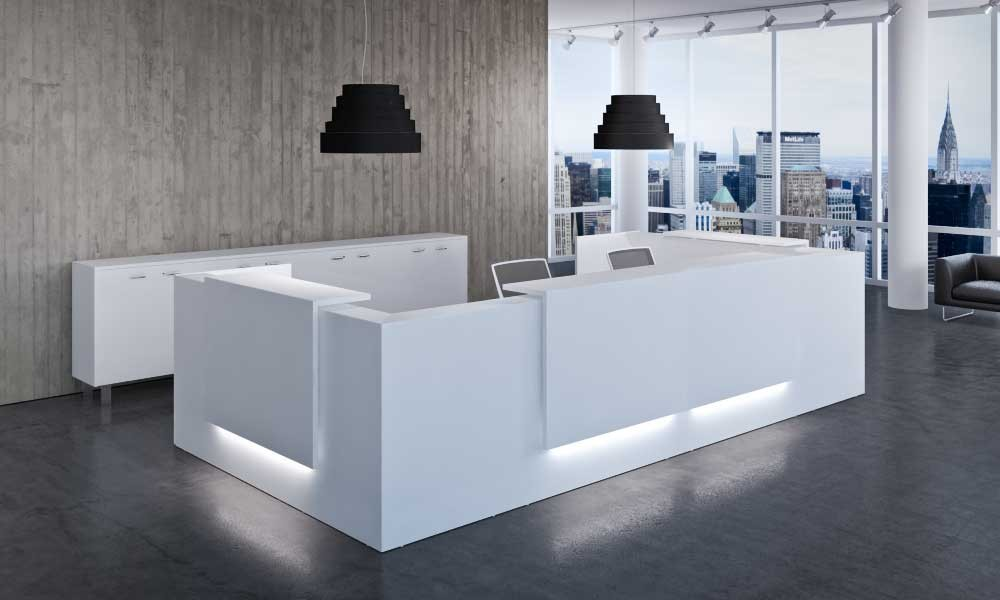 reception areas