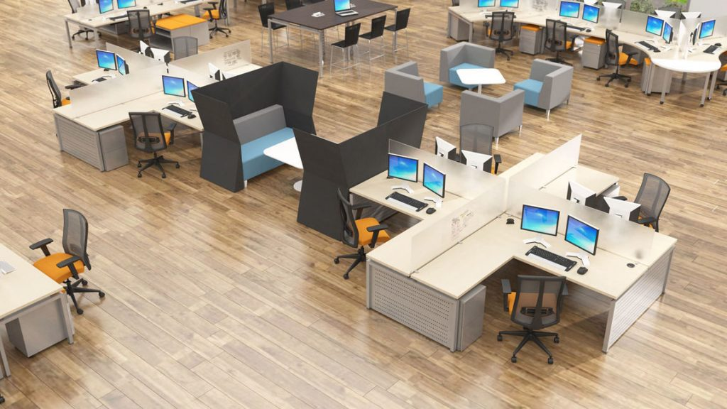 Two heads are better than one collaboration tables for for Office design productivity research