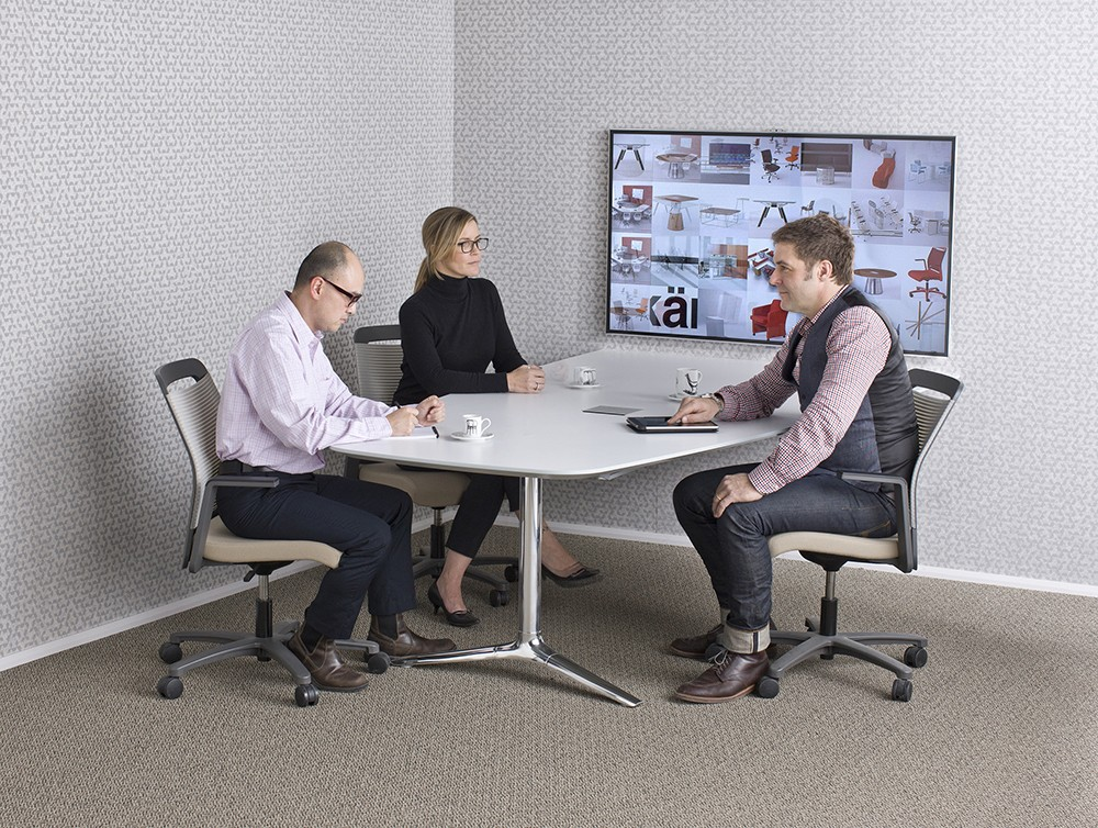 Add collaborative office furniture to your personal work space with StrongProject