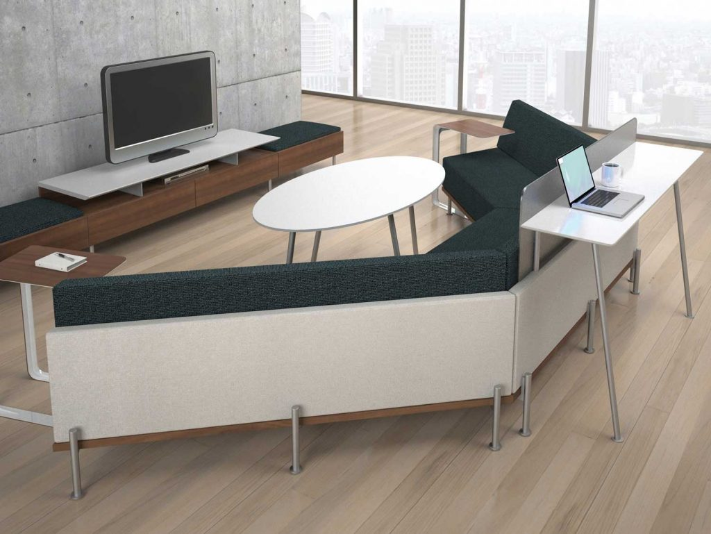Use a small group seating arrangement for maximum focus and comfort.