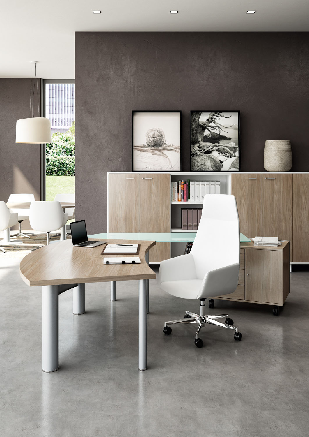 Modern Office Desk: L-Shape Office Desks Are Getting A Sleek Makeover