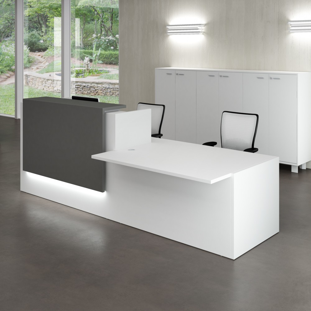 Do you need accessibility? Try a two-tier desk.