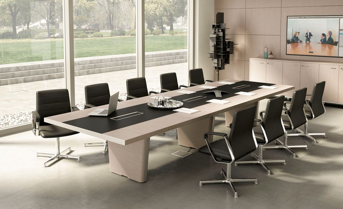 Whats hot minimizing wires with smart office furniture modern the conference room keyboard keysfo Images