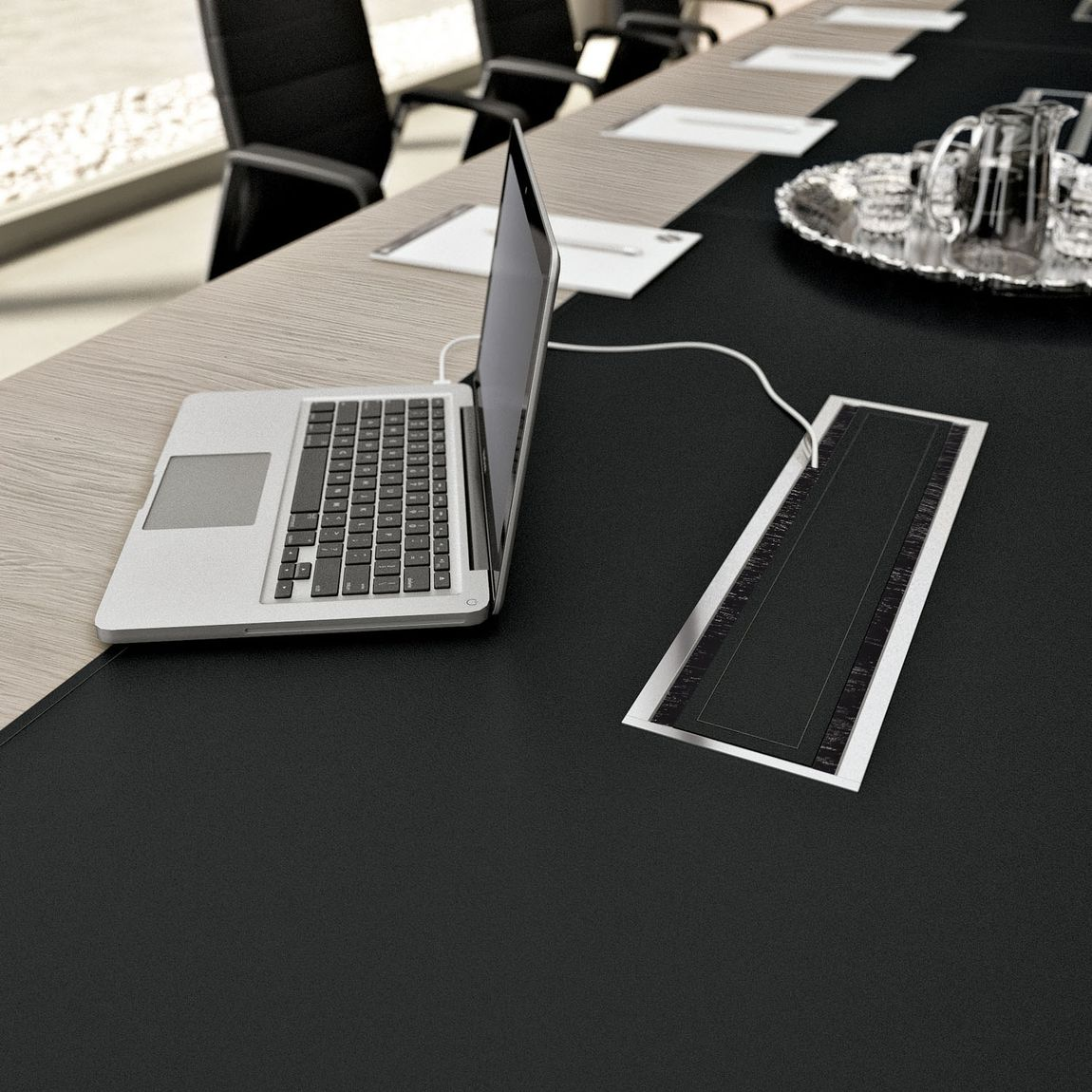 Whats hot minimizing wires with smart office furniture modern the conference room greentooth Gallery