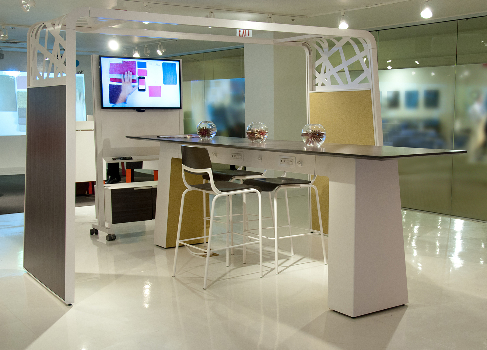 Use integrated tech in your office design