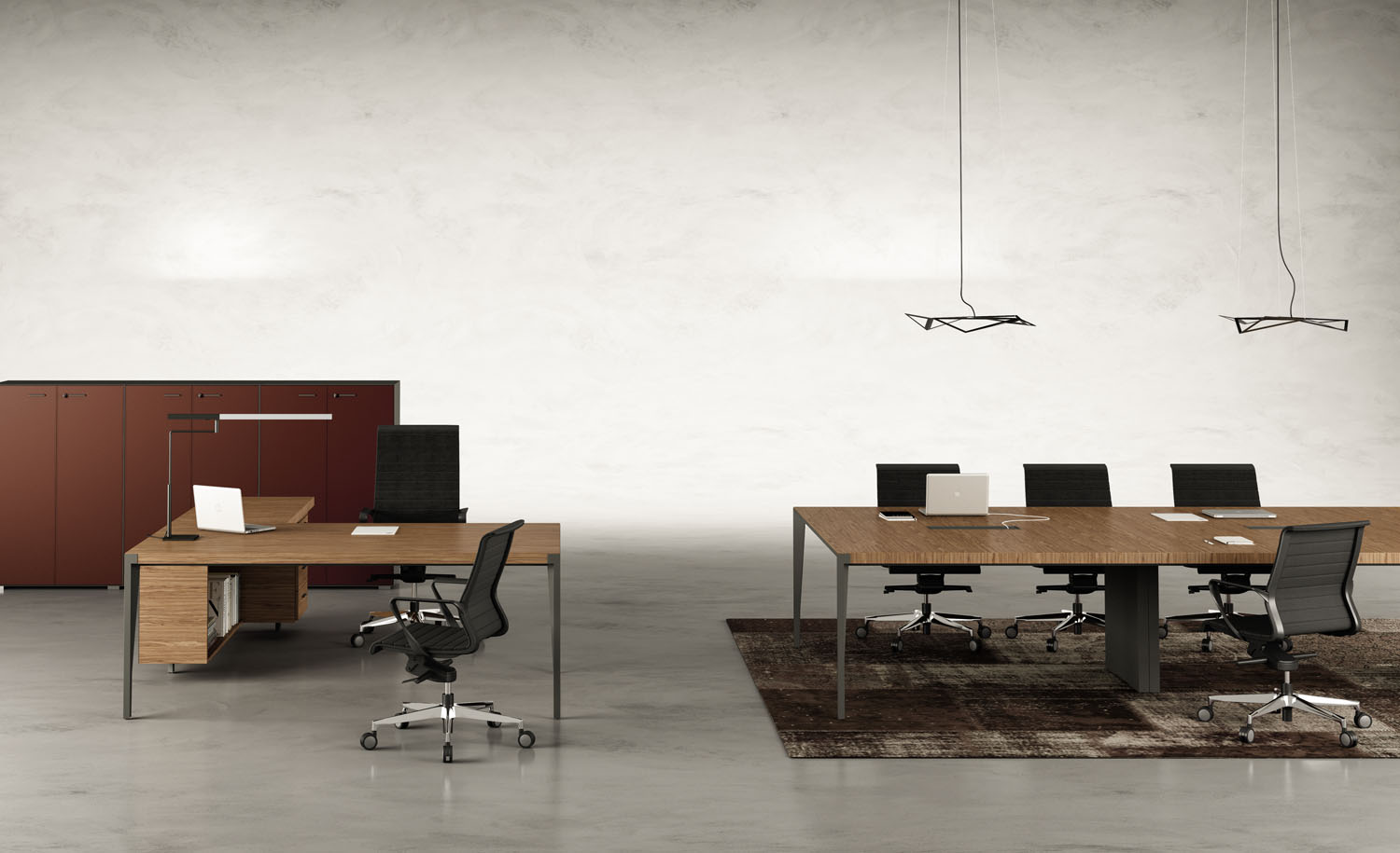 Consider minimalist aesthetic in your new office design.