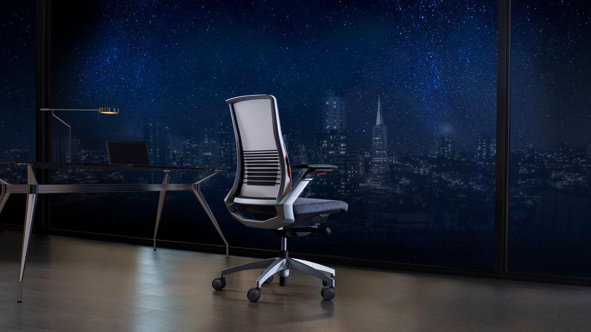 minimalist executive office chair