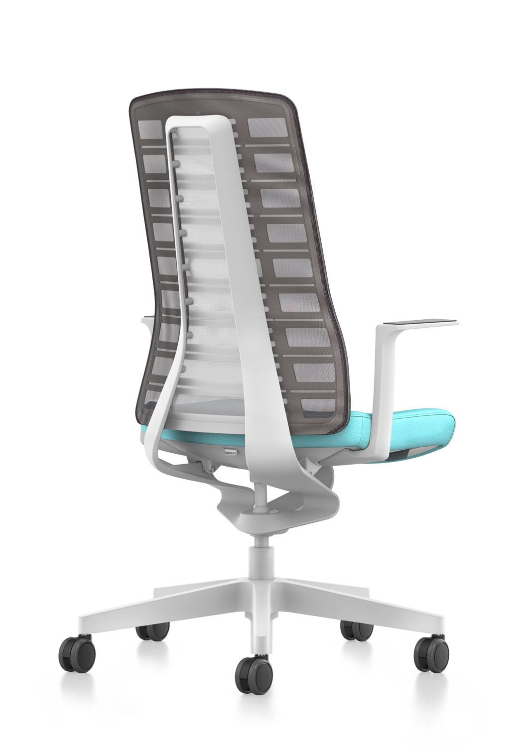 High backed mesh chair for the office executive