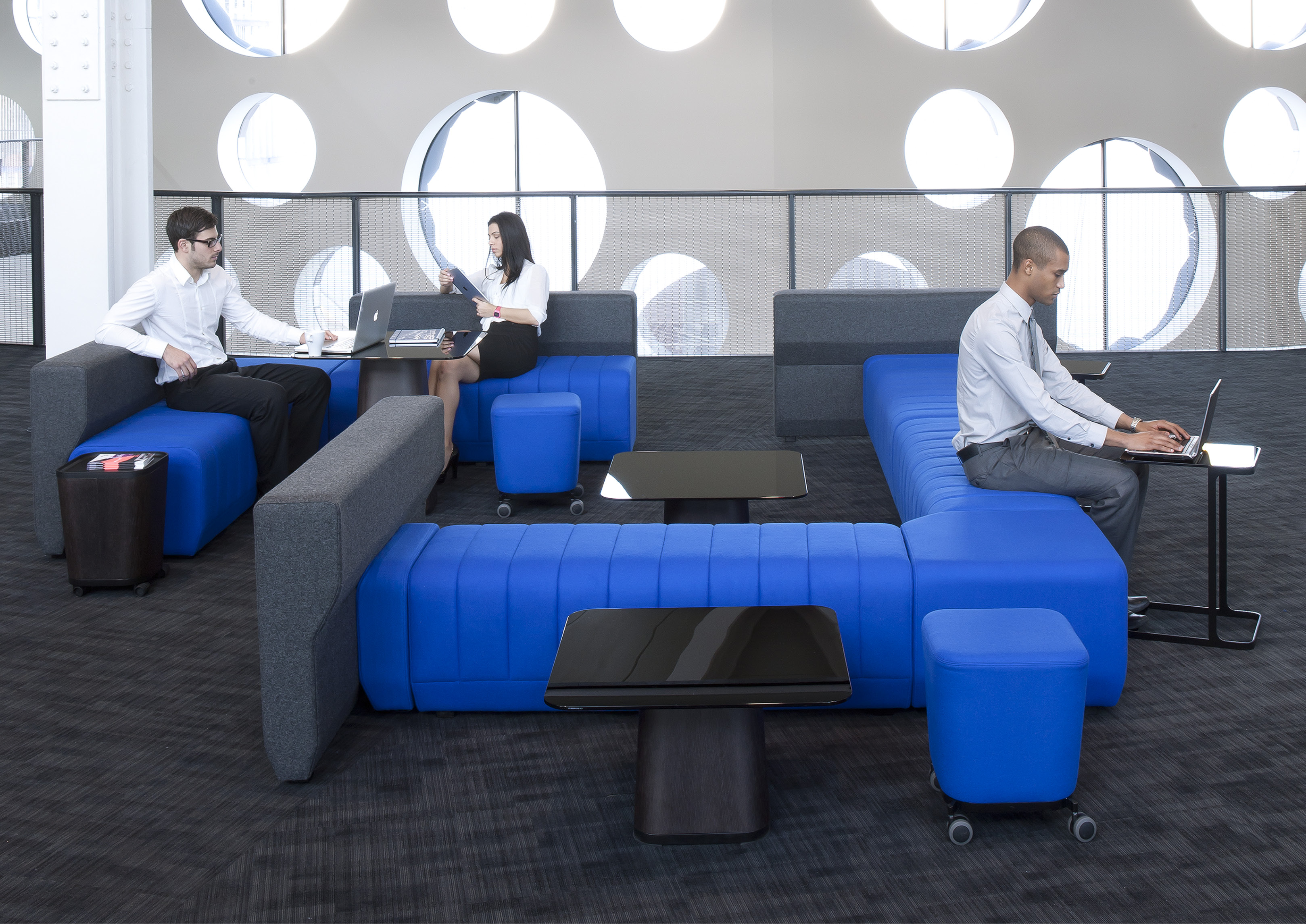 Design your office to encourage more interactions.