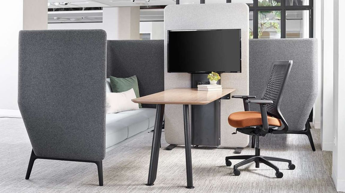 office furniture acoustic for meetings