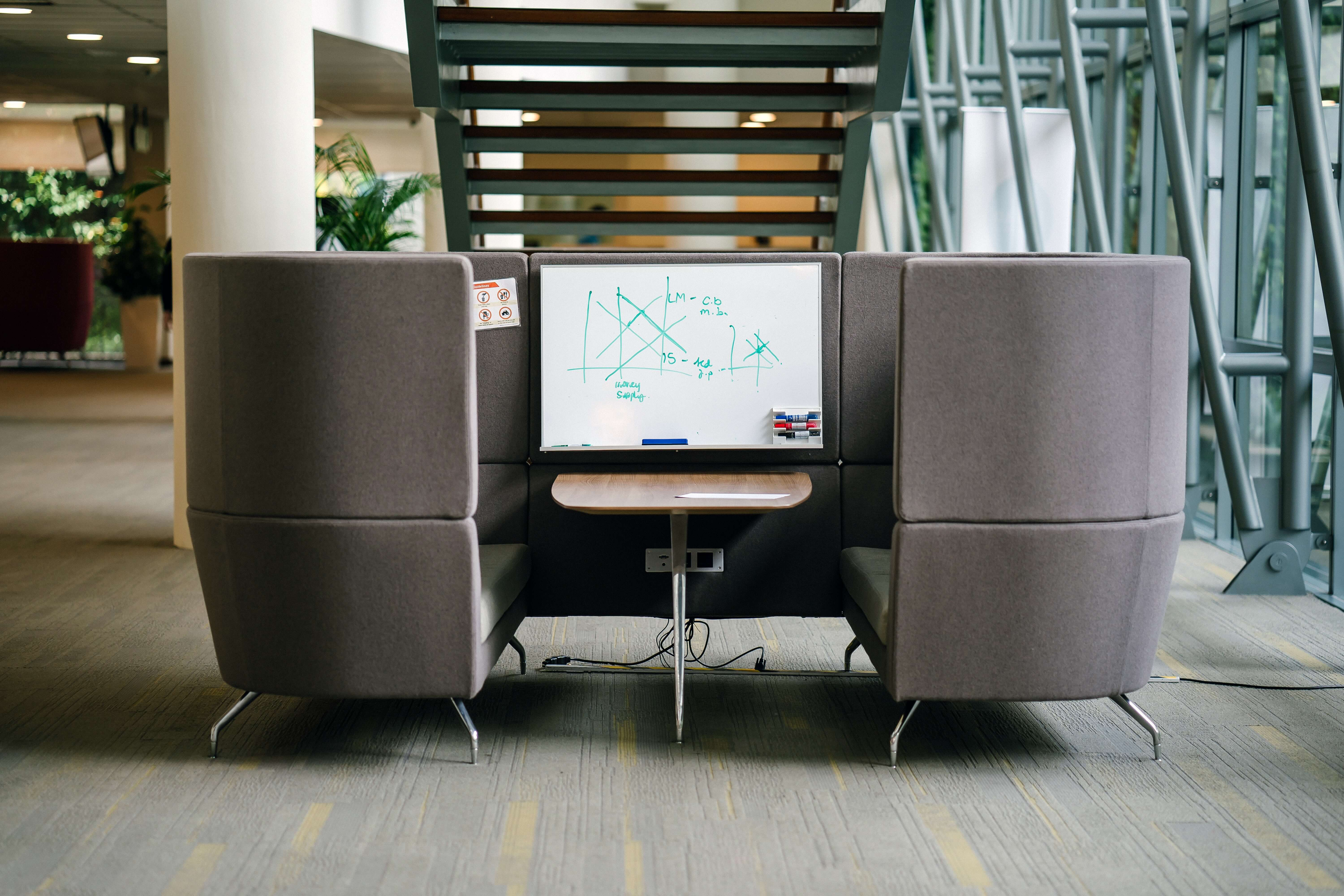 Modern Office Space Hacks To Help Redesign Your Crowded Workplace Modern Office Furniture