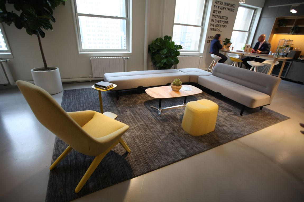 acoustic and collaborative furniture neocon 2020