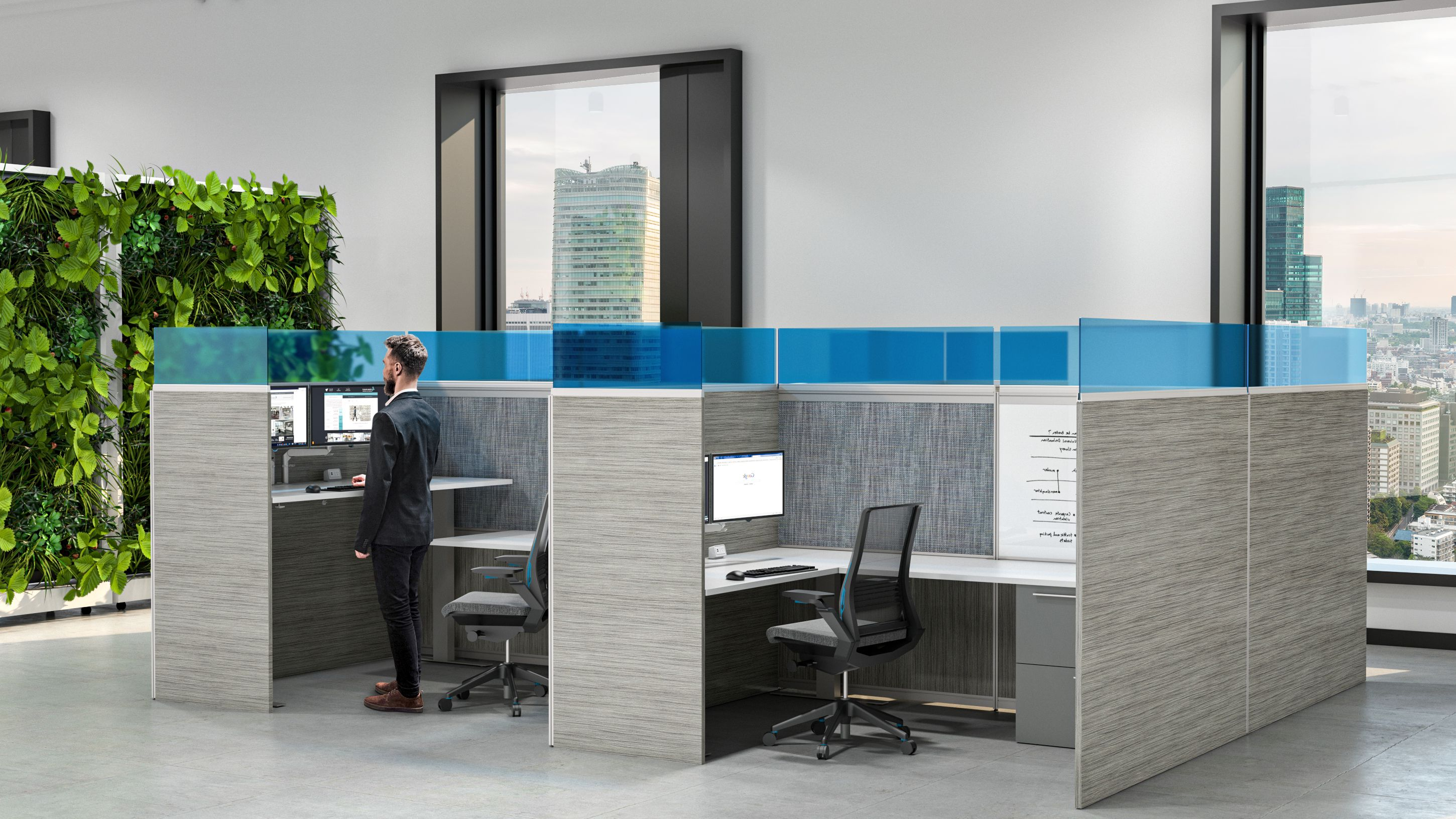 privacy-cubicle-safe-social-distance-workplace