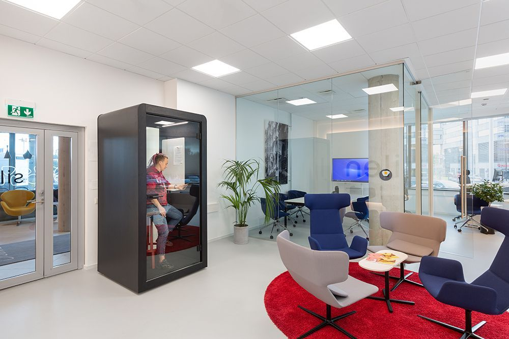 office furniture acoustic phone booth