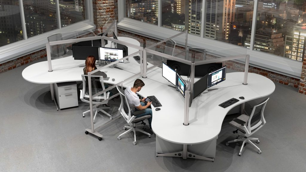 dogbone design workstation cubicle
