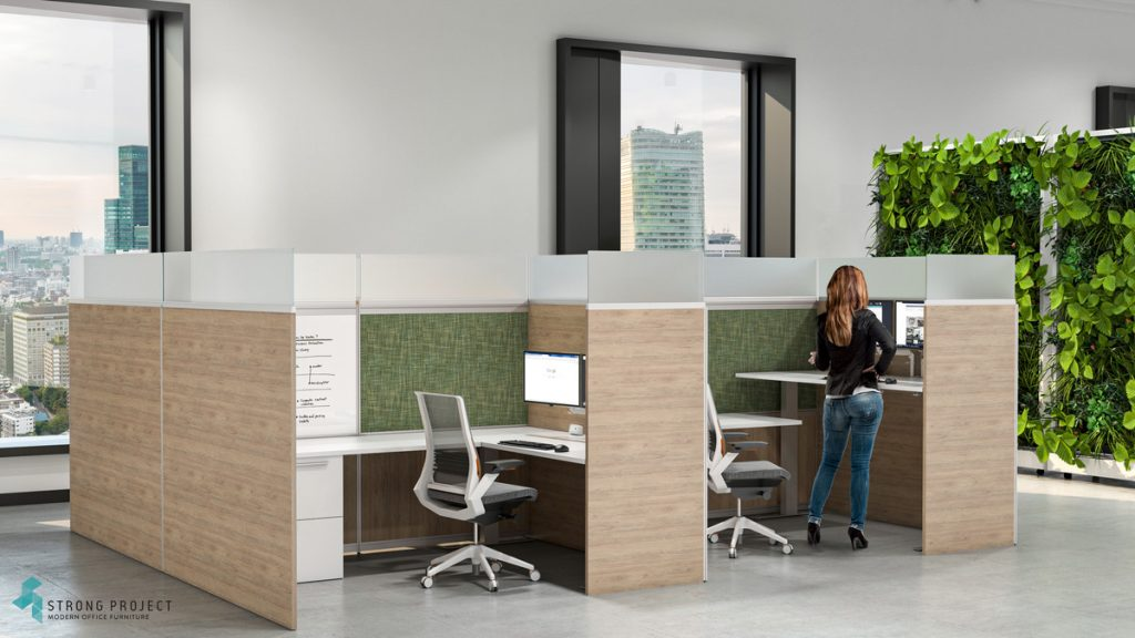 green in office color palette
