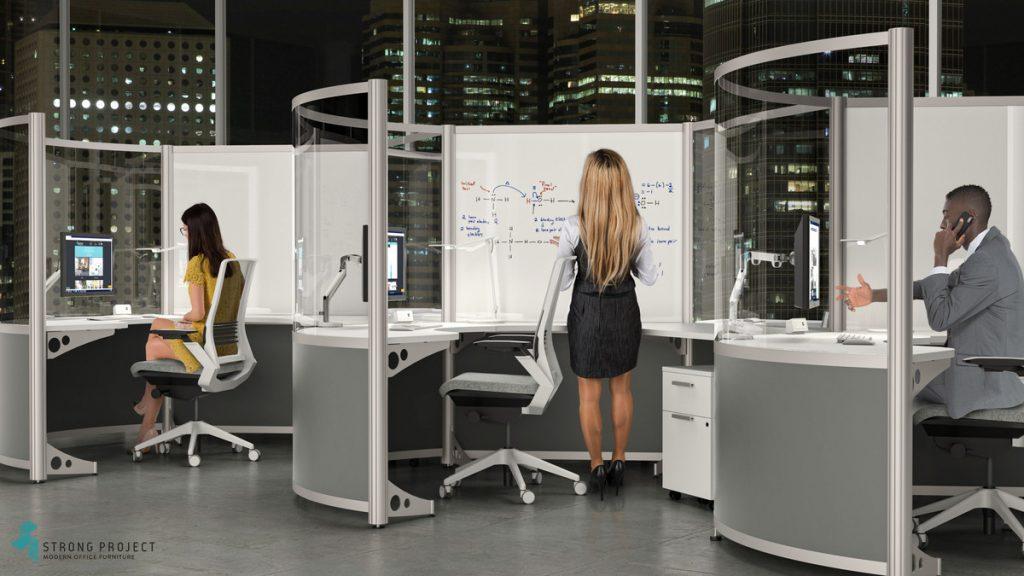 moderne kantoorcabines
