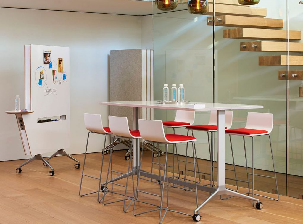 office color psychology in a conference room