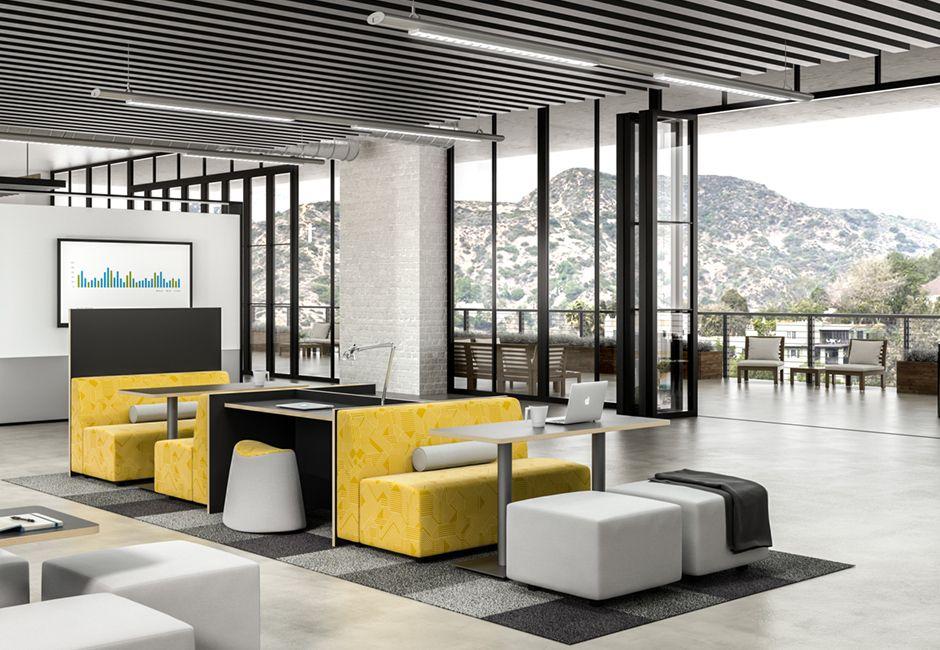 collaborative workspace furniture